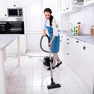 show home cleans
